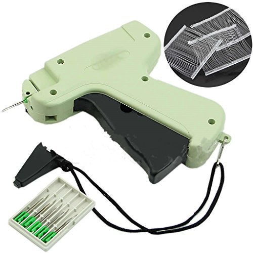 (KUKALE Tag Tagger Regular Clothing Price Lable Tagging Gun with 1000 3