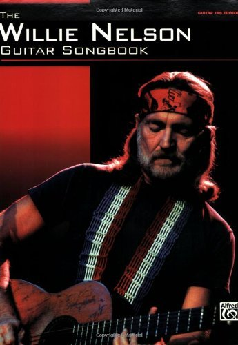 Country Books Tab Guitar (The Willie Nelson Guitar Songbook: Guitar TAB Sheet Music)