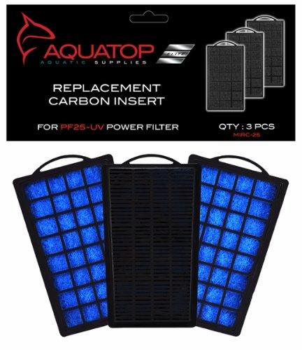 Image of Aquatop Aquarium Carbon Cartridge for PF25-UV Hang On UV Filter