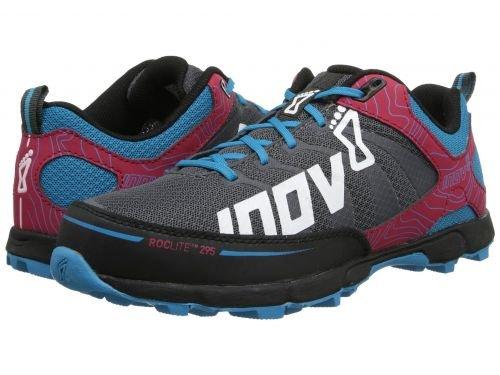 バースト広く練習Inov-8(イノヴェイト) レディース 女性用 シューズ 靴 スニーカー 運動靴 Roclite 295 - Grey/Berry/Blue [並行輸入品]