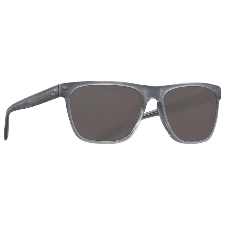Costa Del Mar Apalach Sunglasses Matte Gray Crystal/Gray 580Glass by Costa Del Mar