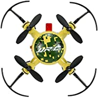 Lcyyo@ JJRC H30 MINI 2.4G 4CH 6-Axis Gyro Drone RTF RC Quadcopter with 360° Rolling Action & CF Mode & One-key Return (Yellow)