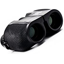 Binoculars for Adults and Kids,Compact Folding with Weak Light Night Vision for Hunting,Outdoor Sports Games,Bird Watching,Stargazing,Golf,Shooting,Hiking 10x25 High Powered Optics Lenses Black-TEAMYO