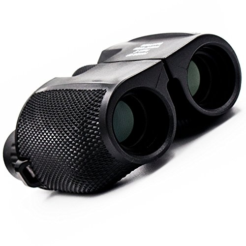 Binoculars for Adults and Kids,Compact Folding with Weak Light Night Vision for Hunting,Outdoor Sports Games,Bird Watching,Stargazing,Golf,Shooting,Hiking 10x25 High Powered Optics Lenses - Lenses To Choose How Glasses For
