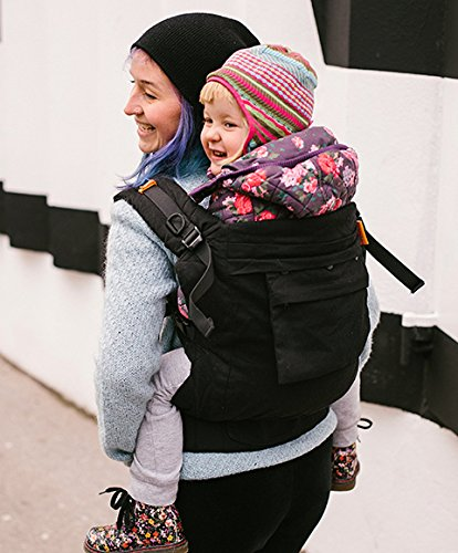 Beco Toddler Buckle Carrier for Toddlers and Pre-School Children - Metro Black Beco Baby Carrier Inc.