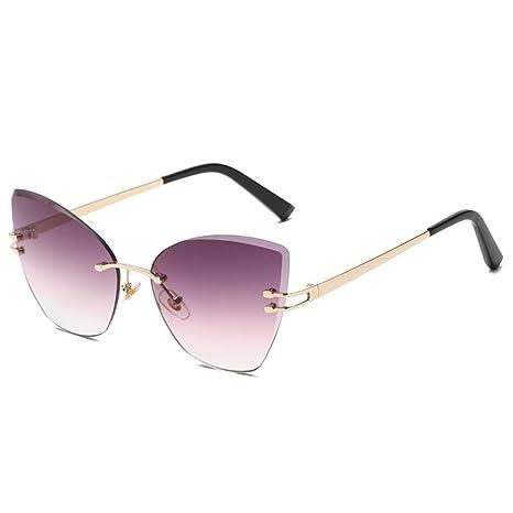 AOLVO Gafas de Sol Cateye para Mujer, Gafas de Sol ...