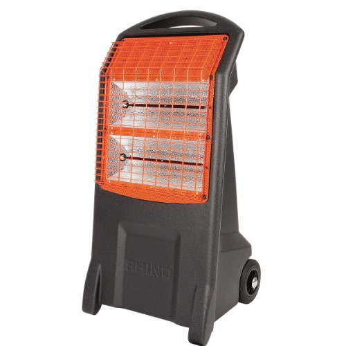 Rhino H029400 240 V TQ3 Infrared Heater - Black