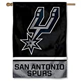 WinCraft San Antonio Spurs Two Ply and Double Sided House Flag
