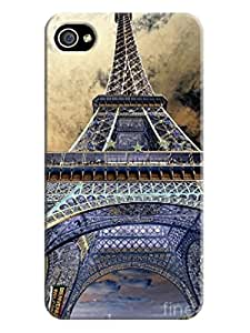 Super Eiffel Tower iphone 4/4s Case Cover for Background image LarryToliver #4