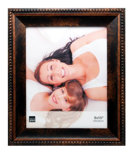 (Kiera Grace Sydney Photo Frame, Holds 8-Inch by 10-Inch Photos, Antique)