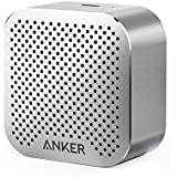 Anker SoundCore nano Bluetooth Speaker with Big Sound, Super-Portable Wireless Speaker with Built-in Mic for iPhone 7, iPad, Samsung, Nexus, HTC, Laptops and More - Gray