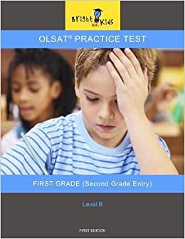 Amazoncom Olsat Practice Test Level B Second Grade Entry Bright
