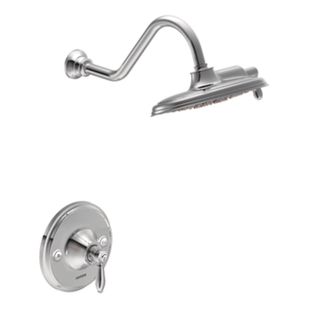 Moen TS32102 Weymouth Posi-Temp Shower Only, Chrome - Tub And ...