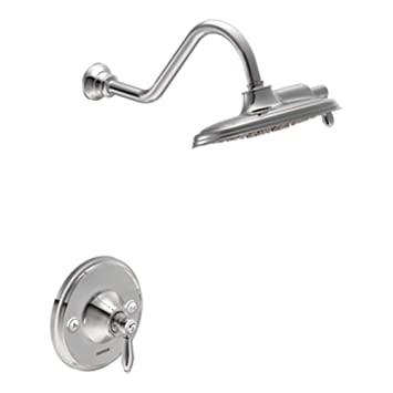 Moen TS32102 Weymouth Posi Temp Shower Only, Chrome