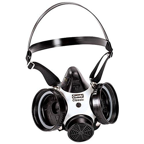 MSA Comfo Classic Half-Mask Respirator, Medium (2 Pack)