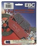 #1: EBC Brakes FA196V Semi Sintered Disc Brake Pad (Fits Rear Only)
