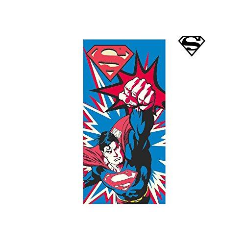 Unica Blu Cotone Superman 2200002169 Tessile e Accessori