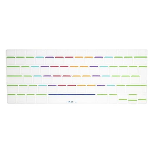 """190 opinioni per MiNGFi Copritastiera silicone coperchio della tastiera per MacBook Pro 13"""" 15"""""""