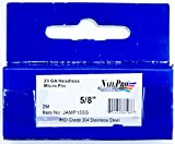 "NailPRO 23 Ga x 5/8"" Stainless Steel Headless Micro Pins, 2000 Count"