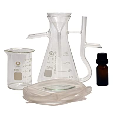 Aceite esencial Separador Puro Agua Receptor Laboratorio Aceite ...