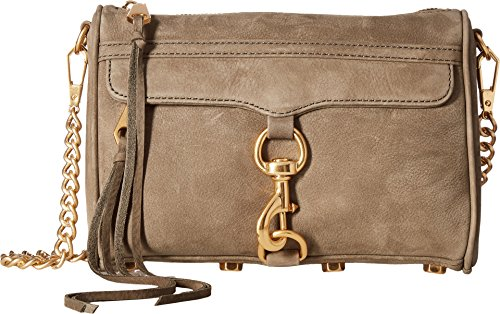 Rebecca Minkoff Women's Mini MAC Cross Body Bag, Olive, One Size by Rebecca Minkoff