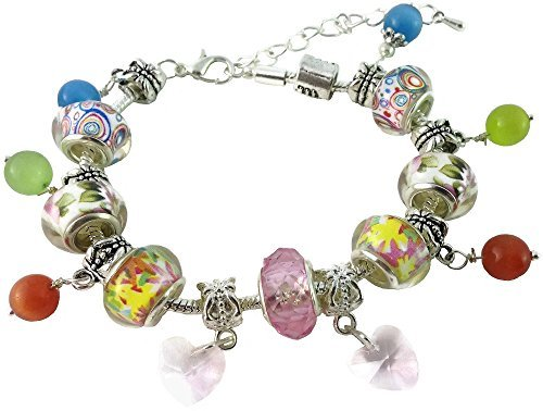 Beaded Dangling Charms - 5