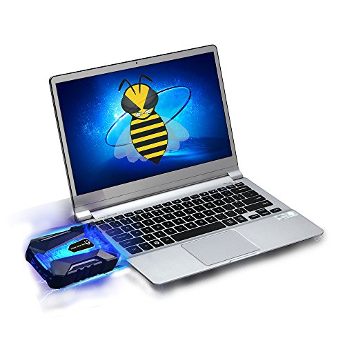 Tree New Bee Gaming Portable Laptop Cooler ,Faster Cooling And USB Powered,Support Various Size 14inch To 17inch Laptop/Notebook
