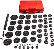 maXpeedingrods Conjunto de chaves de vedação e rolamento de buchas personalizadas, 52 peças, 18 mm - 65 mm