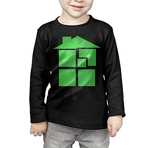 [MHGJ Infant Unisex Homestuck Anime Long Sleeve T-srhits 2 Toddler Black] (John Homestuck Costumes)
