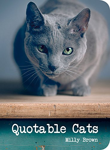 """Quotable Cats"" av Milly Brown"