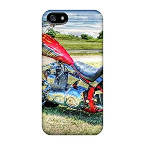 LastMemory Case Cover Iphone 5/5s Protective Case Bikers Bike Hdr