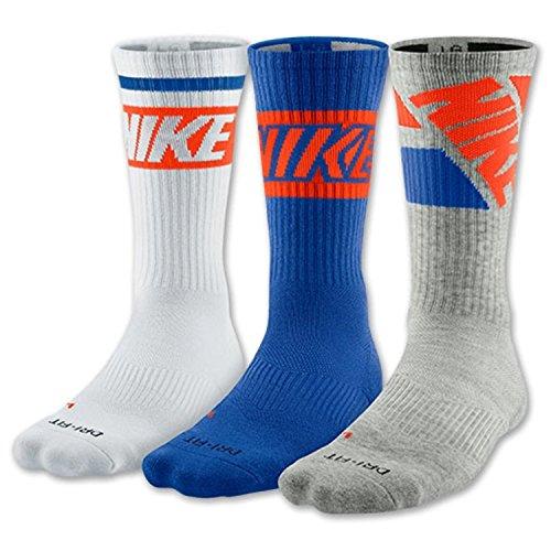 Nike Dri-Fit Cotton Cushioned Crew Socks 3 Pack