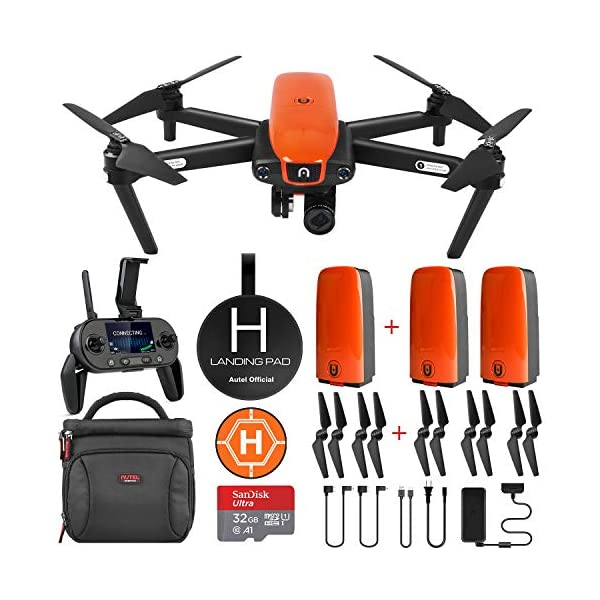 Autel Robotics EVO Drone Camera with Cinematic 4K HD Video at 60FPS ($298 Worth Bundle)