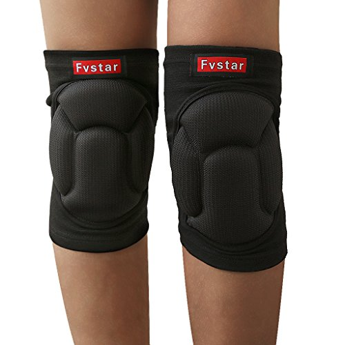 Fvstar Knee Pads Knee Protective Gear for Cycling Skiing Goalkeeper Soccer Football - Soccer Pads Goalie Knee