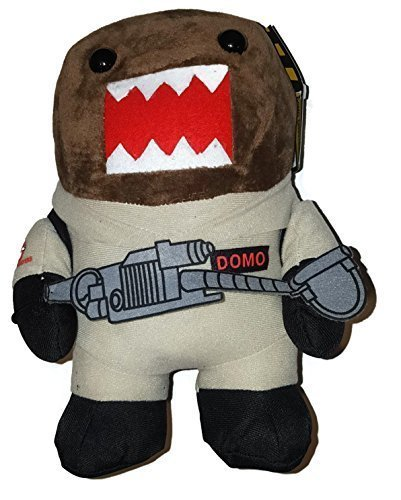 Halloween Domo Plush (10 Ghostbuster Domo Stuffed Plush With Proton Pack and Particle)