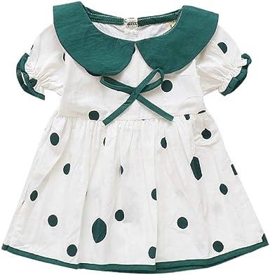 Baywell Vestido de Niña Bebé Falda de Verano Princesa Linda Patrón ...