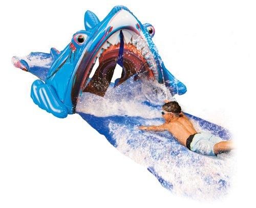 Banzai Wasserrutsche mit einem Hai + 3D-Brille