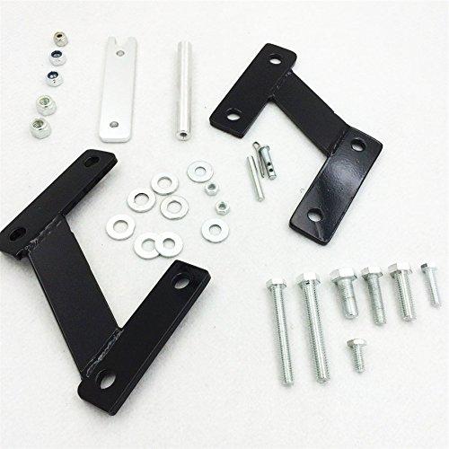 HK MOTO 3 Forward Control Extensions for Honda Shadow Sabre 1100 Spirit 1100 VT Black