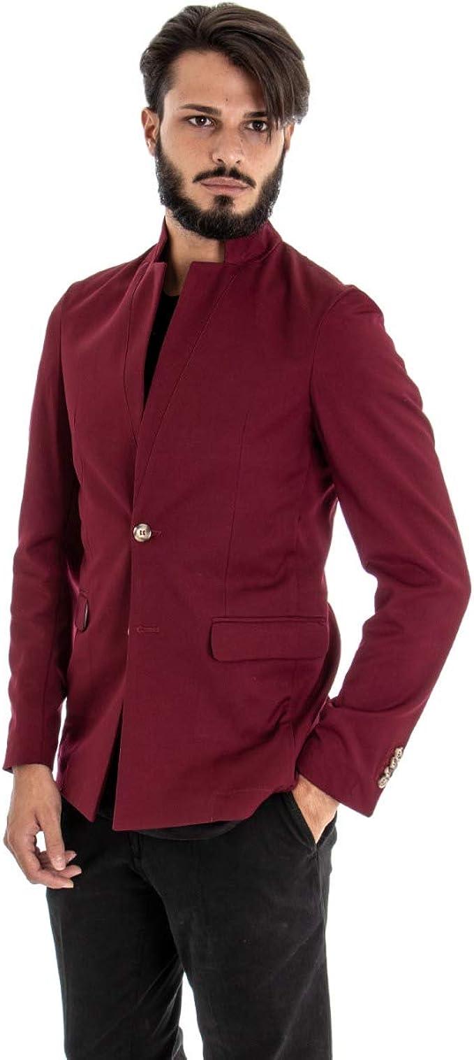 Giosal - Chaqueta para Hombre Blazer - Abrigo Liso de Color ...