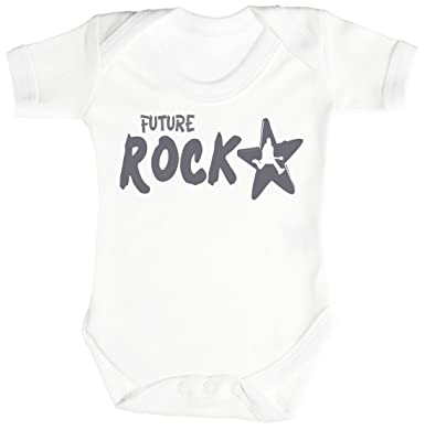 dfd23d192928 SR - Future Rockstar Baby Bodysuit - Baby Body Suit - Baby Boy ...