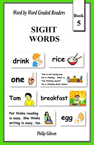 SIGHT WORDS: Book 5 (LEARN THE SIGHT WORDS) ()