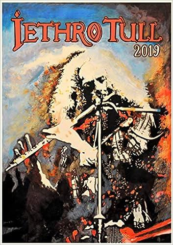 2019 Wall Calendar 12 pages 20x30cm Jethro Tull Folk Music Vintage
