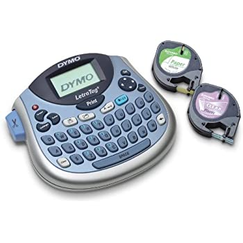 DYMO LetraTag LT-100T Plus Compact, Portable Label Maker with QWERTY keyboard (1733013)