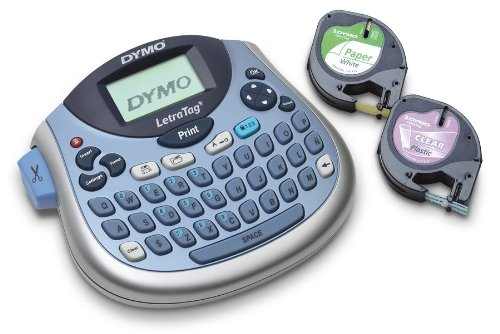 DYMO LetraTag LT-100T Plus Compact, Portable Label Maker with QWERTY keyboard (1733013) (Label Maker Thermal Portable)