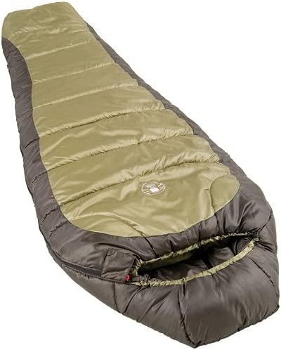 Coleman 0°F Mummy Sleeping Bag - North Rim Cold-Weather Sleeping Bag