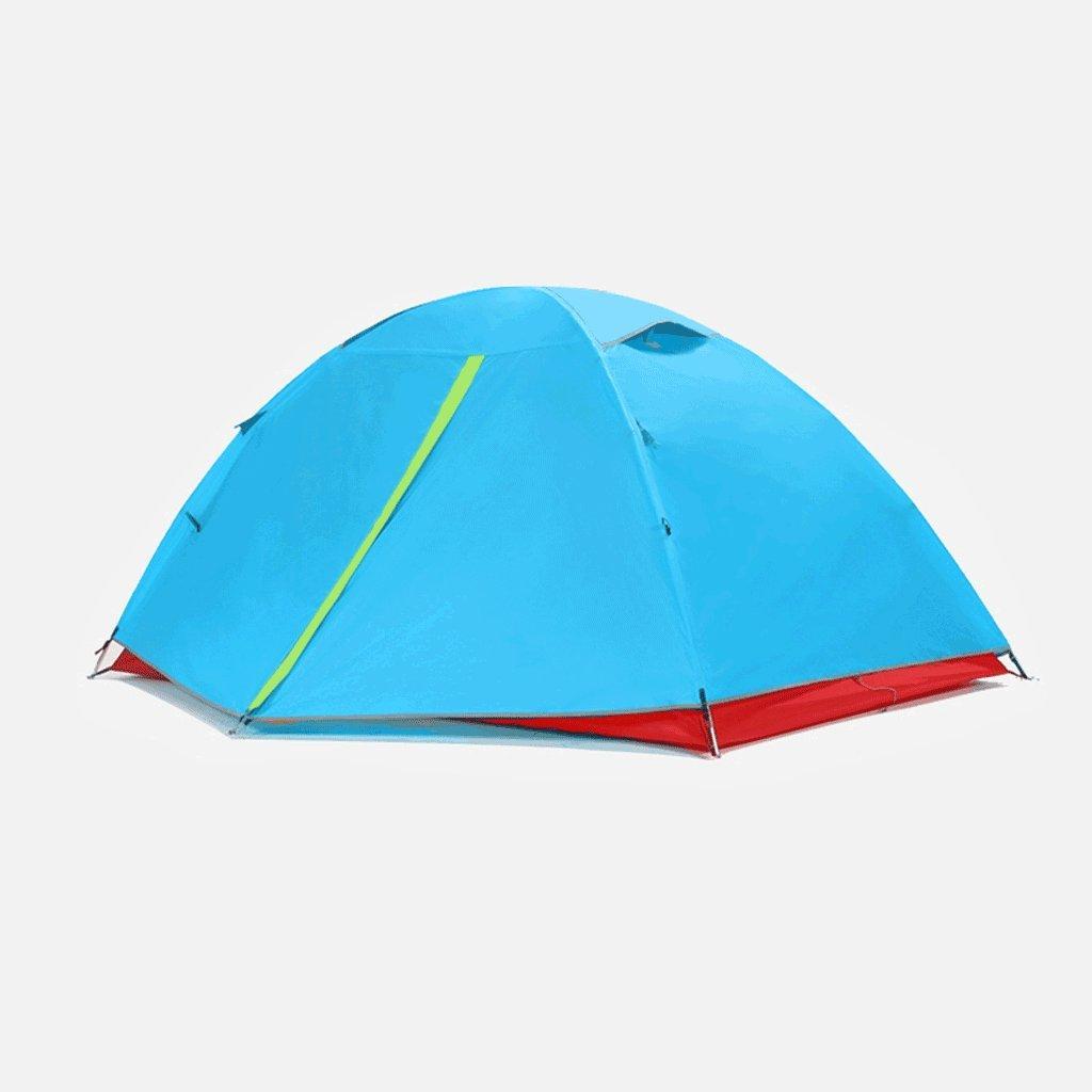 TLMY 探検家アウトドアキャンプキャンプテント3-4スピードを開く自動ダブルファミリー防水 テント   B07GKV47MP