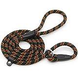 Coolrunner 5 FT Nylon Dog Leash Standard Training Adjustable Pet Slip Lead Traction for Dogs