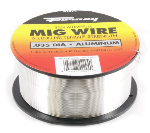 Forney 42294 Mig Wire, Aluminum Alloy ER5356.035-Diameter, 1-Pound Spool by Forney