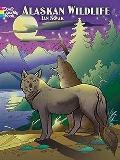 Alaskan Wildlife Coloring Book Dover Nature