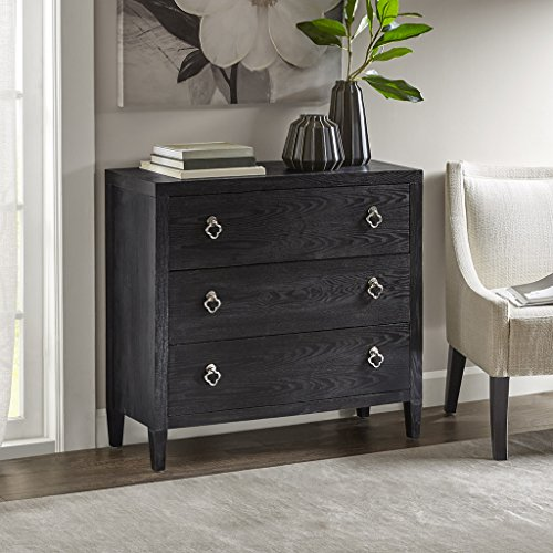 Stockton 3 Drawer Chest Black See below (Stockton Accent)